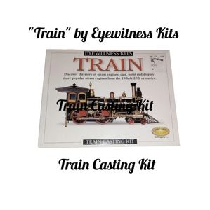 Train Casting Kit. Cast, Paint, & Enjoy Learning